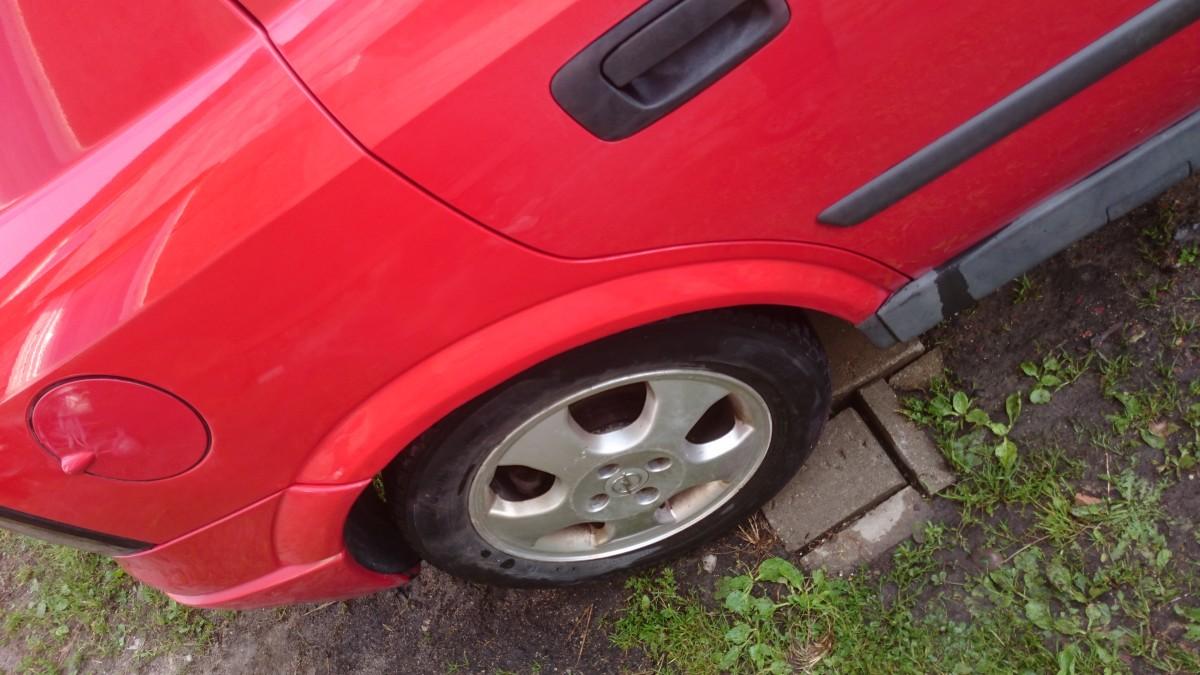 Opel Astra G arka